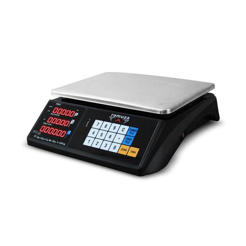 Balança Eletrônica Ramuza DCL INMETRO 35kg | Touch