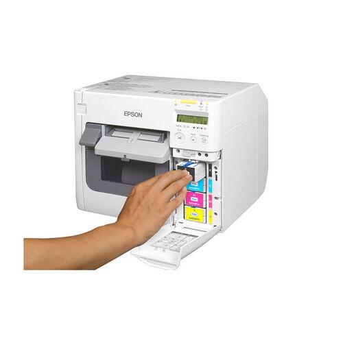 Impressora de Etiquetas Coloridas Epson ColorWorks C3500