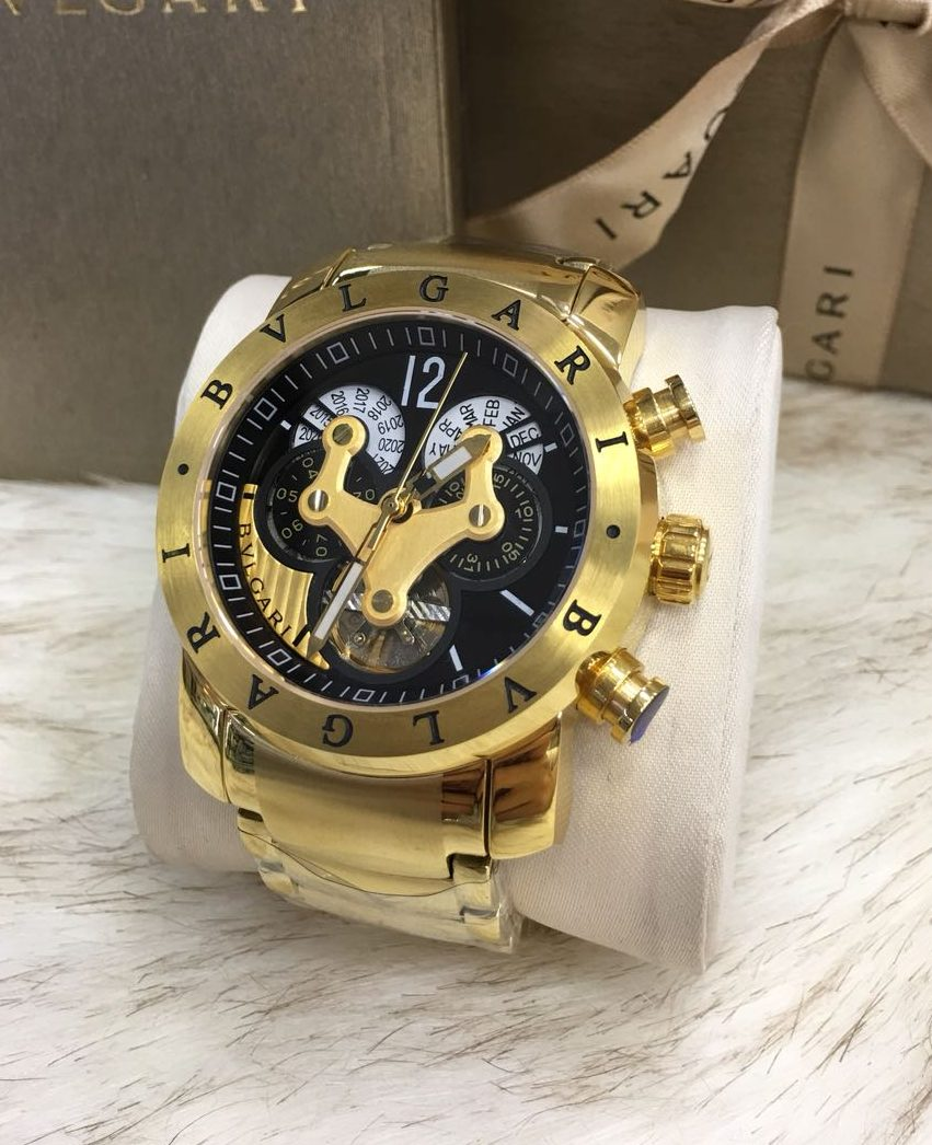 Bvlgari Hybrid Gold Black