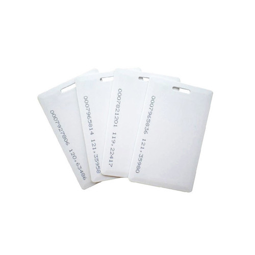 Cartão de Proximidade  Smart Card Branco