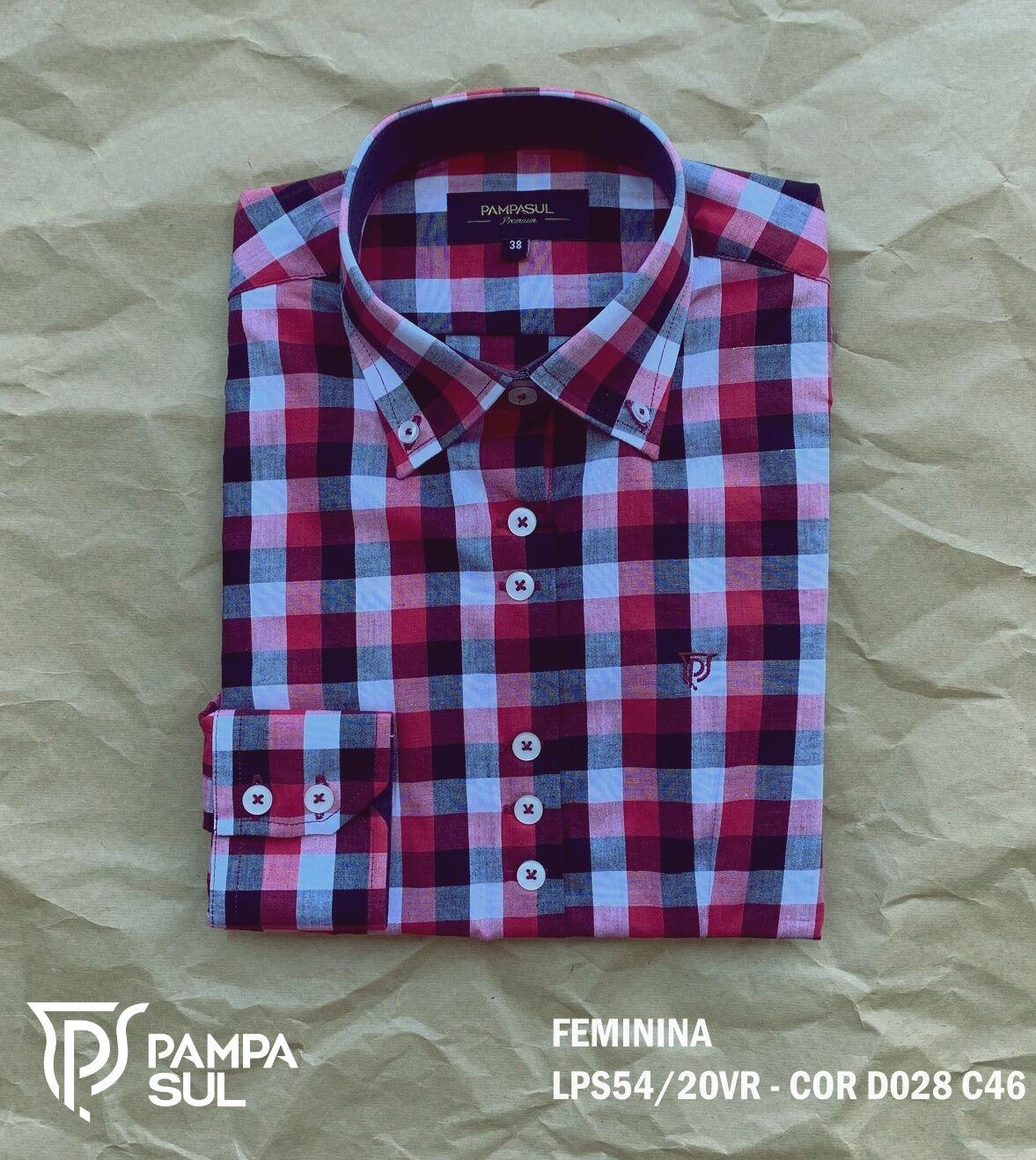 Camisa Pampa Sul Feminina LPS 54/20