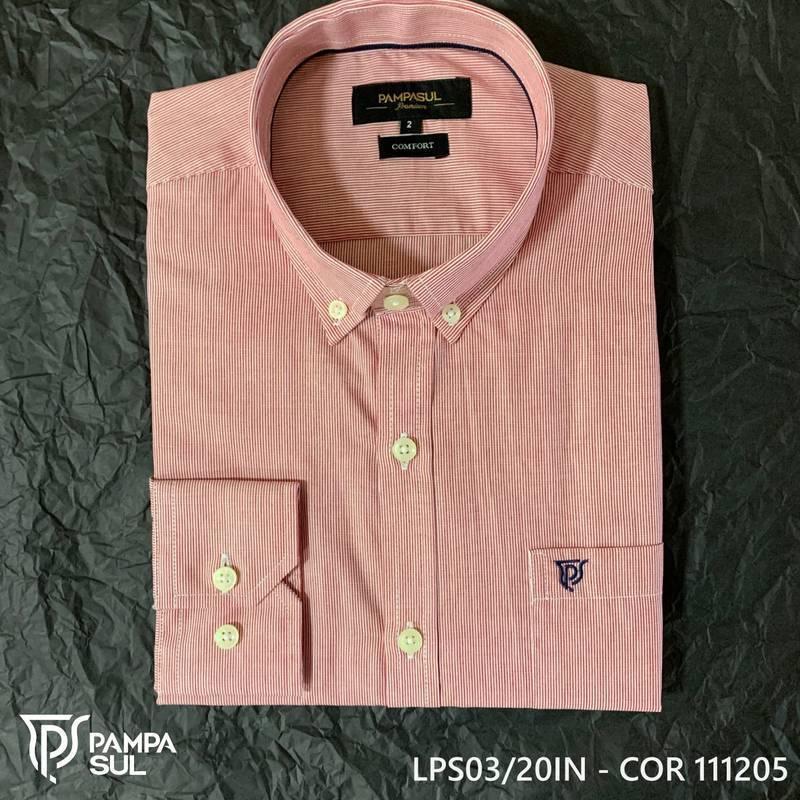 Camisa Pampa Sul Masculina Slim Confort 03/20
