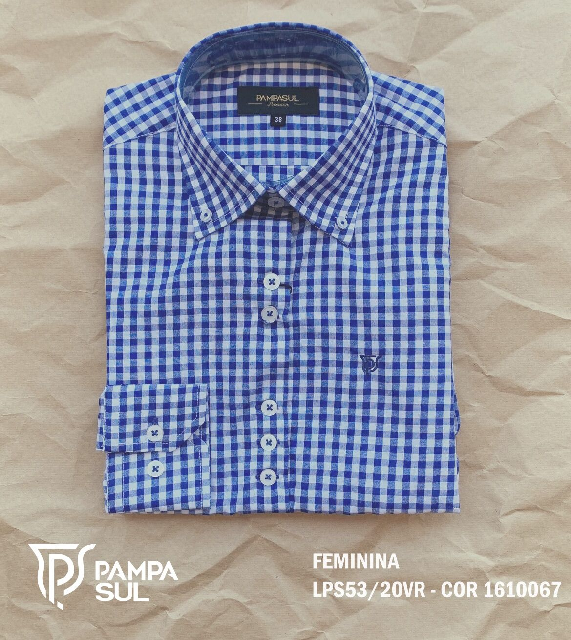 Camisa Pampa Sul Feminina LPS 53/20