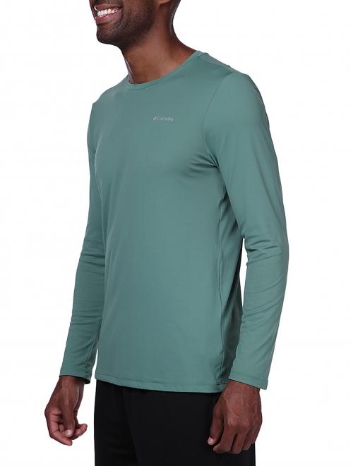 Camiseta Neblina masculina (manga longa)- Columbia