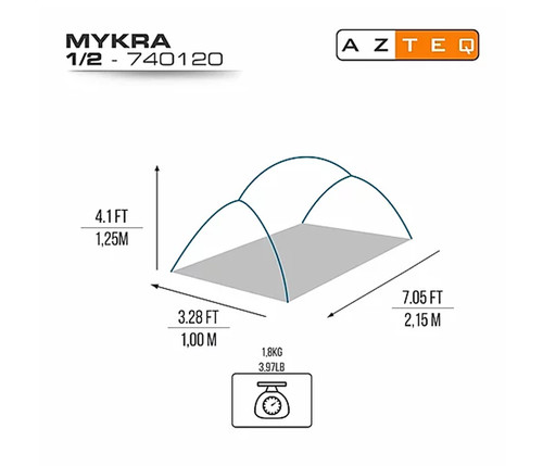 Barraca Mykra 1/2P - Azteq