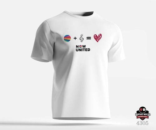 Camiseta personalizada Now United