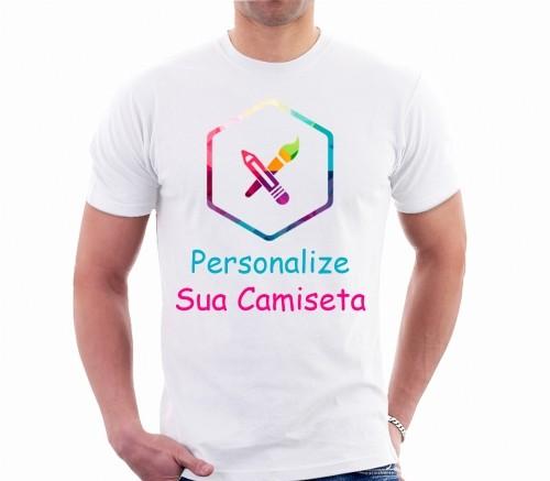 Camiseta Personalizada do seu Jeito (100% Poliester)