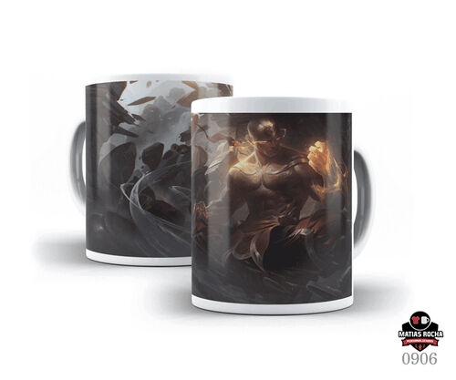 Caneca Branca Games League of Legends