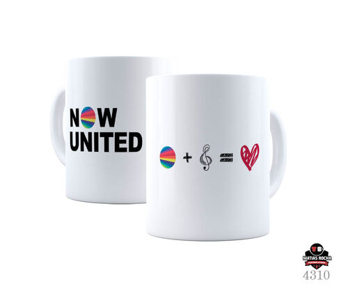 Caneca personalizada Now United