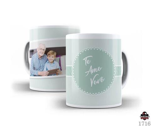 Caneca personalizada avô com foto