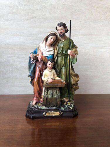 Sagrada Família - 28 cm - Resina Importada