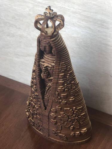 Nossa Senhora Aparecida - 22cm - MDF