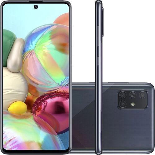 Smartphone Samsung Galaxy A71 128GB Dual Chip Android Tela 6,7