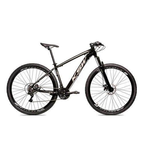 Bicicleta MTB Alum 29 KSW Shimano 24 Vel Freio a Disco