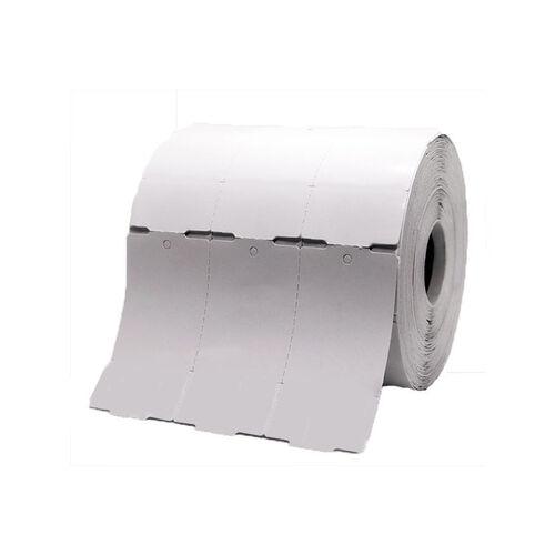 Etiqueta Tag para Roupa 35x60x03 Rolo 1500 unidades S/ Picote