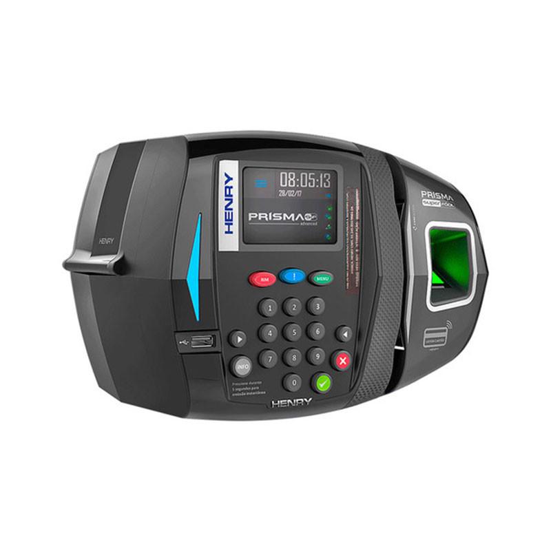Relógio de Ponto Henry Biométrico Prisma SF Advanced