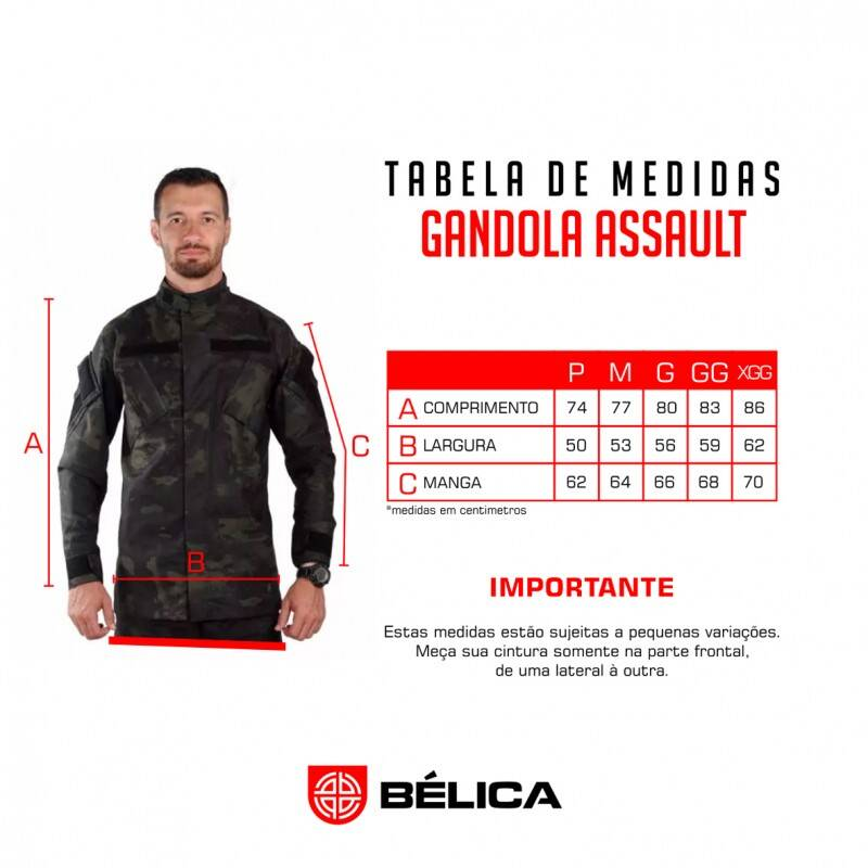 Gandola Assault - Multicam Black - Bélica Militar