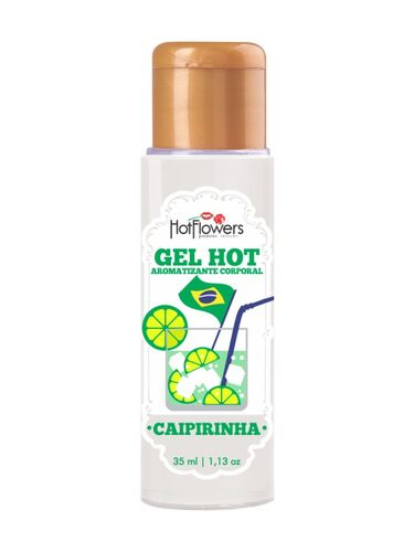Gel Hot Aromatizante Corporal Caipirinha 35ml