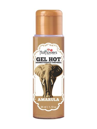 Gel Hot Aromatizante Corporal Amarula 35ml
