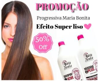 Maria Bonita Escova Progressiva 2x900ml