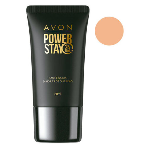Avon Power Stay Base Líquida Bege Claro 30ml
