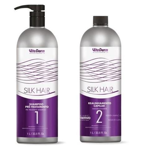 Vita Derm Silk Hair Realinhamento Capilar