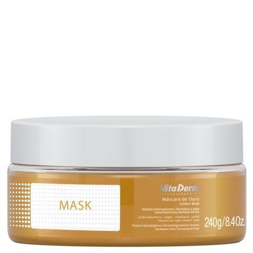 Vita Derm Máscara Facial Ouro 240g