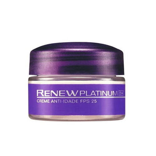 Avon Renew Platinum Creme Facial Noite FPS 30 - 15gr
