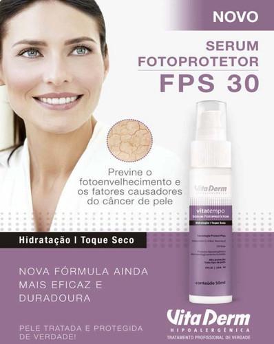 Vita Derm Serum Fotoprotetor Hidratação Toque Seco 50ml