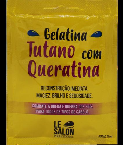 Le Salon Máscara Gelatina Tutano Com Queratina - Kit C/ 12 Unidades
