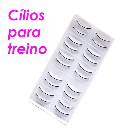 Cílios para treinamento ( 10 Pares )