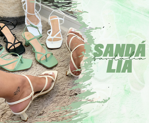 Sandália novo